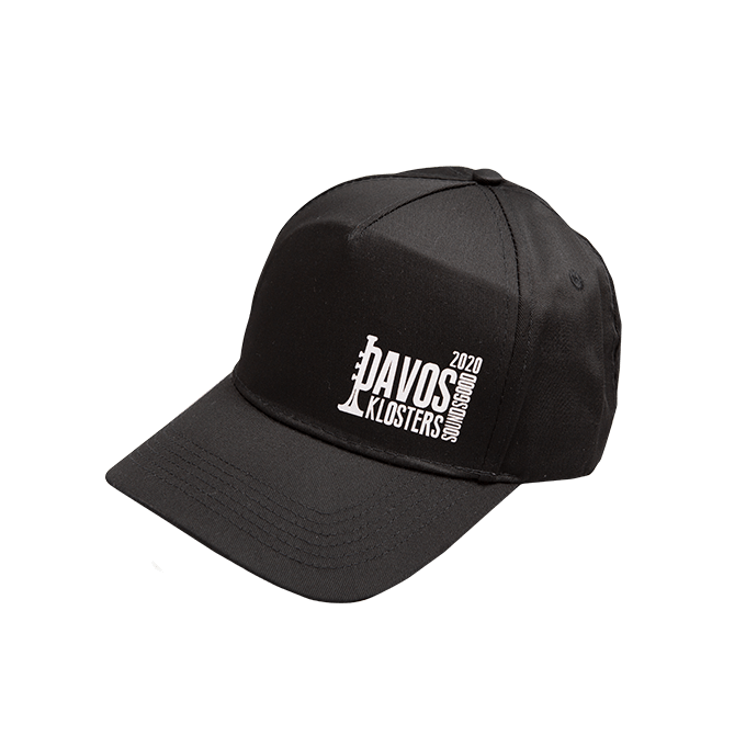 Cap mit Davos Klosters Sounds Good Logo