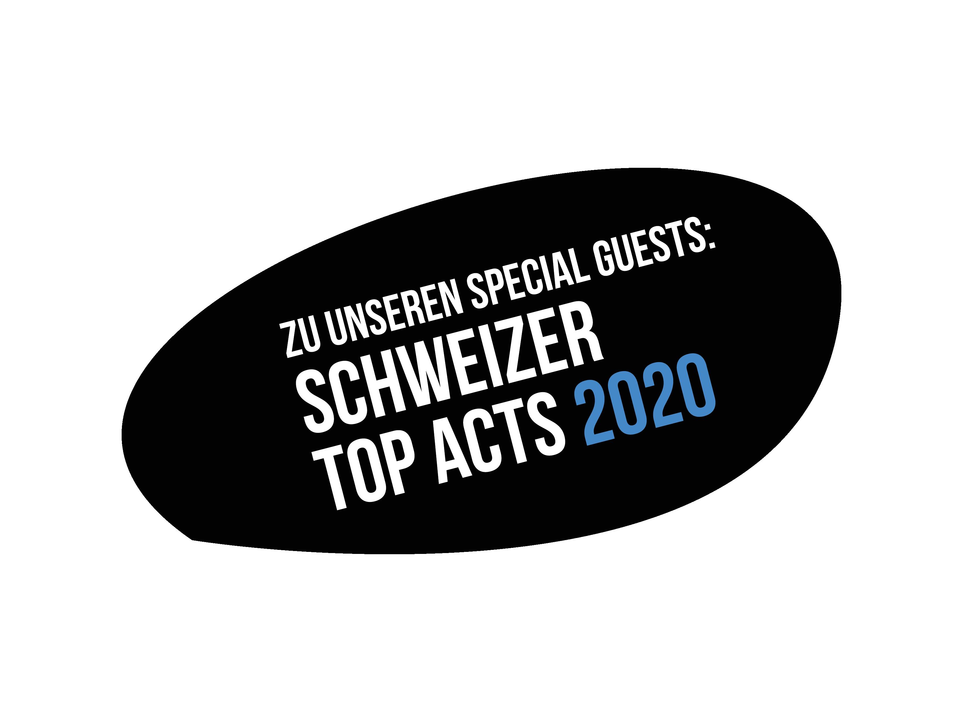Button: Schweizer Top Acts 2020